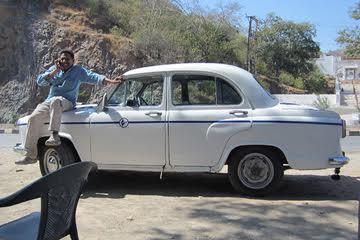 Raj and his first Ambassador
