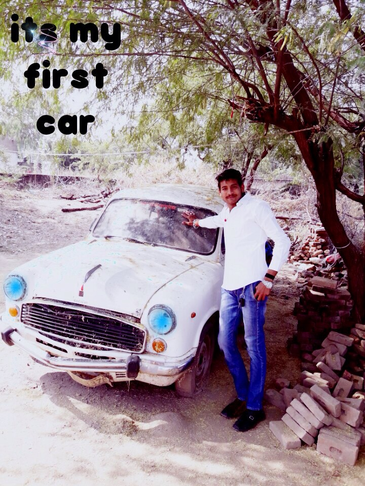 My first Ambassador car in 2009