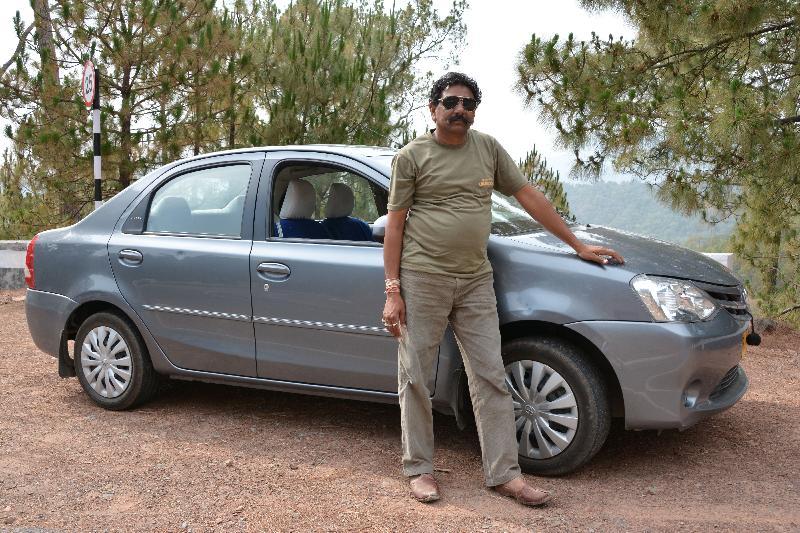 Raj and his Toyota Etios