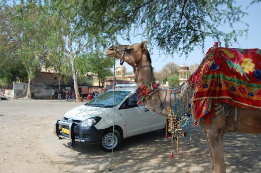 Toyota Innova in Jaisalmer